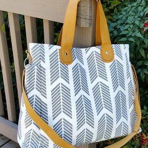 White elm weekender bag
